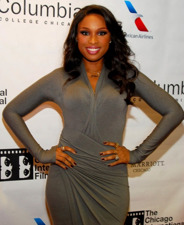 Jennifer Hudson attends the premiere of her latest film 'The Inevitable Defeat Of Mister And Pete' at the Black Perspectives Presentation during the 2013 Chicago International Film Festival held at AMC River East Theater in Chicago, Illinois, on October 11, 2013