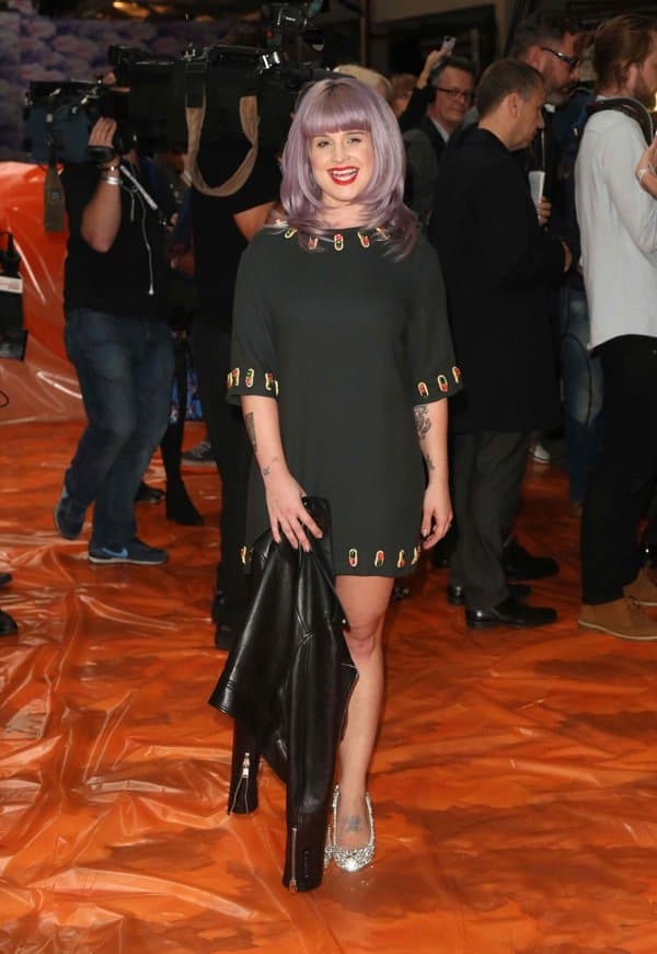 Kelly Osbourne attends the House Of Holland show during London Fashion Week SS14 on September 14, 2013 in London, England