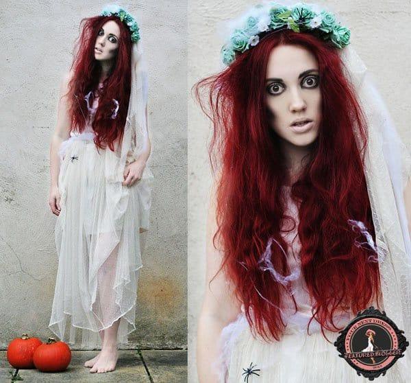 Megan as the corpse bride