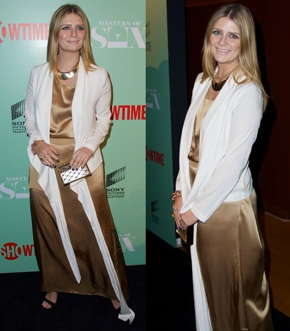Mischa Barton at the premiere of the 'Masters of Sex' in New York on September 27, 2013