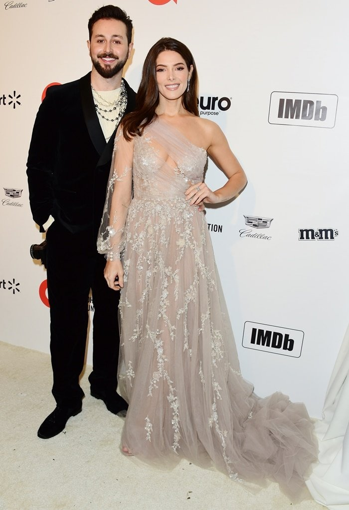 Paul Khoury and his rich wife Ashley Greene