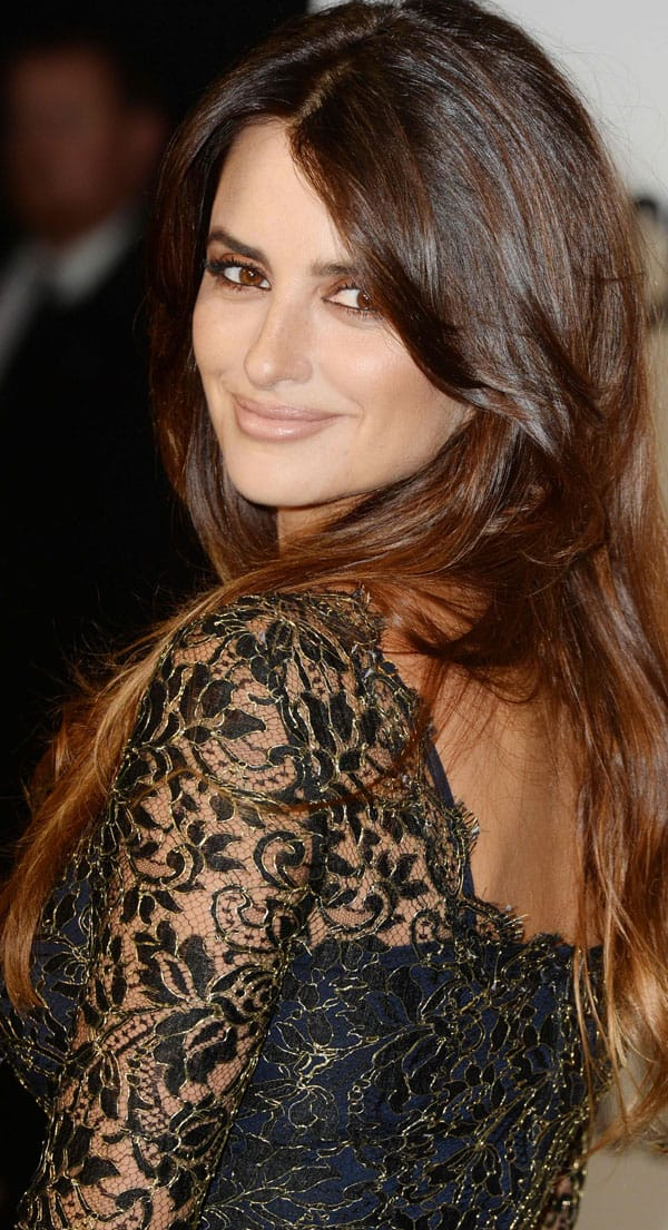 Penélope Cruz arriving at the special screening of 'The Counselor' at the Odeon West End Cinema in London on October 3, 2013