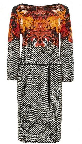 Roberto Cavalli Printed Tunic Dress
