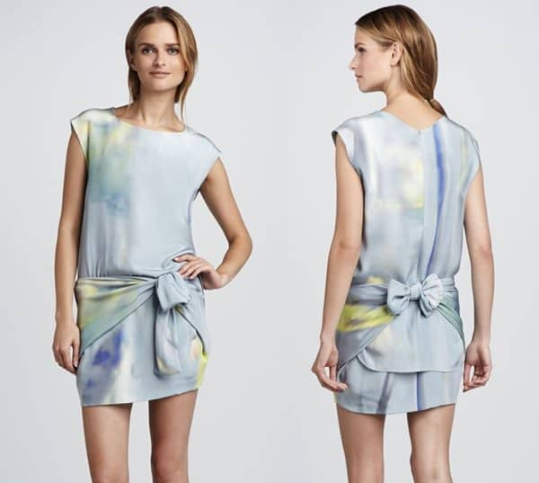 Theyskens' Theory Dinta Watercolor Dress3