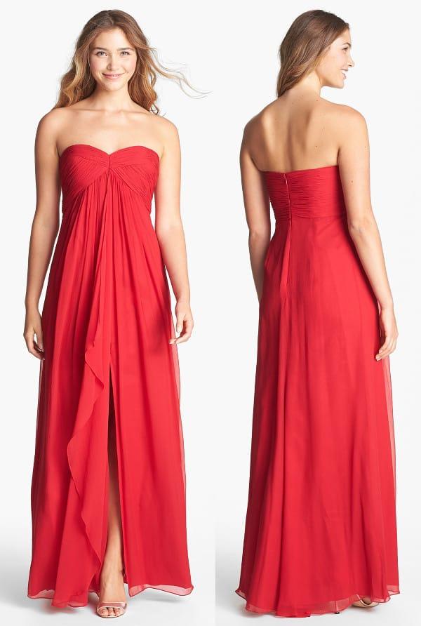 Jill Jill Stuart - Empire Waist Silk Gown
