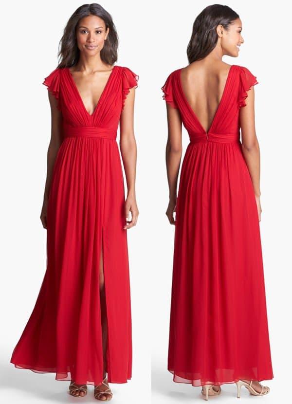 Jill Jill Stuart - Silk Chiffon Dress