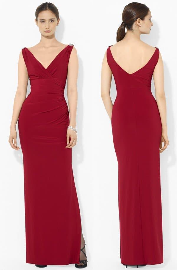 Lauren Ralph Lauren - Empire Matte Jersey Gown