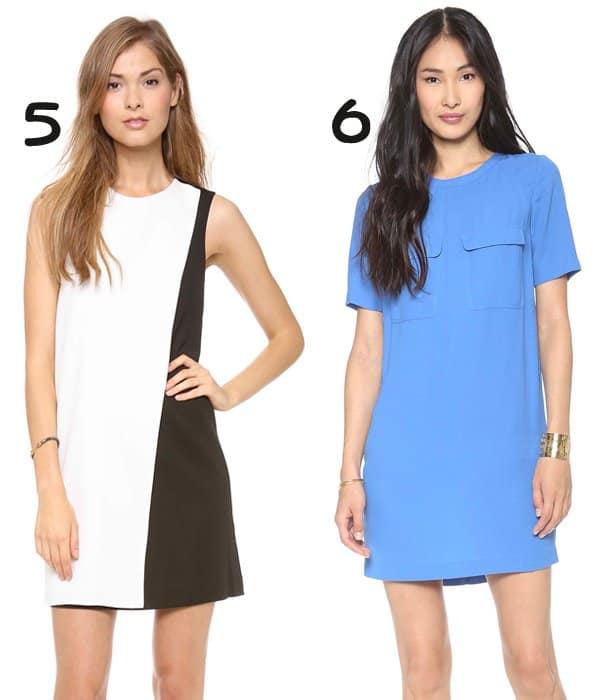 Theory Randla C Dress and Camilla and Marc Rhythmic Shift Dress
