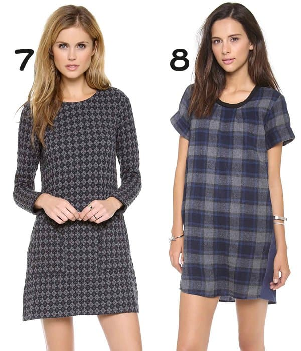Marc by Marc Jacobs Quilty Argyle Dress and Sea Plaid & Chambray Dress