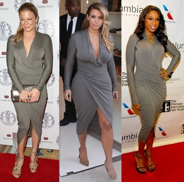 This Donna Karan dress is just so flattering that the celebs are obsessing about it