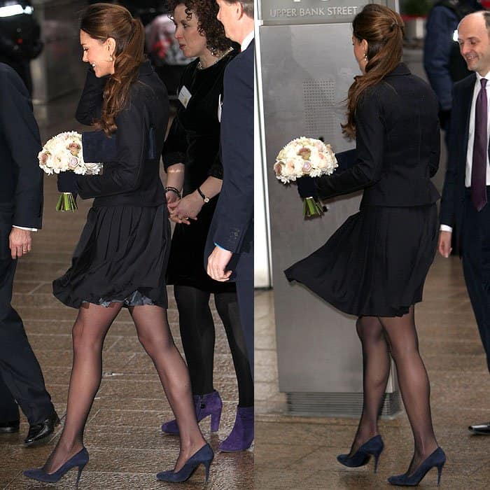 Kate Middleton's Max Mara jacket and Orla Kiely skirt