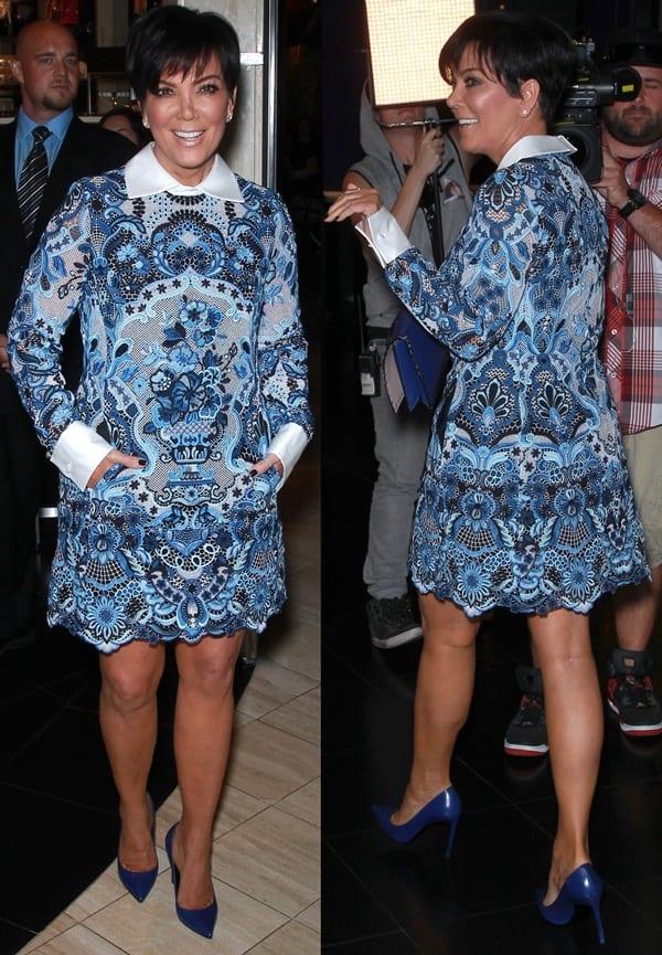 Kris Jenner at Kardashian Khaos at the Mirage