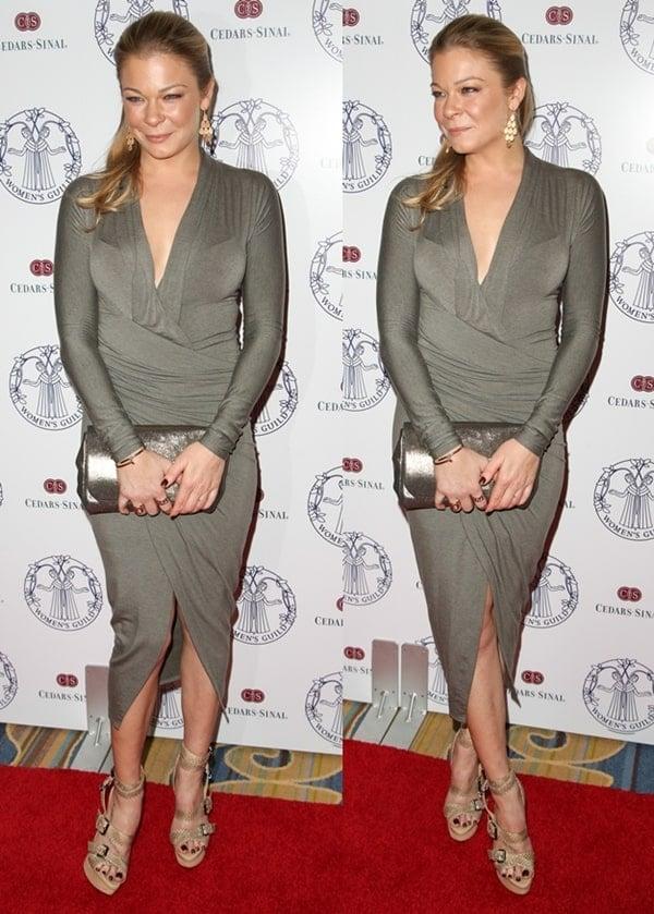 LeAnn Rimes at The Women's Guild Cedars-Sinai Annual Gala in Los Angeles on November 20, 2013