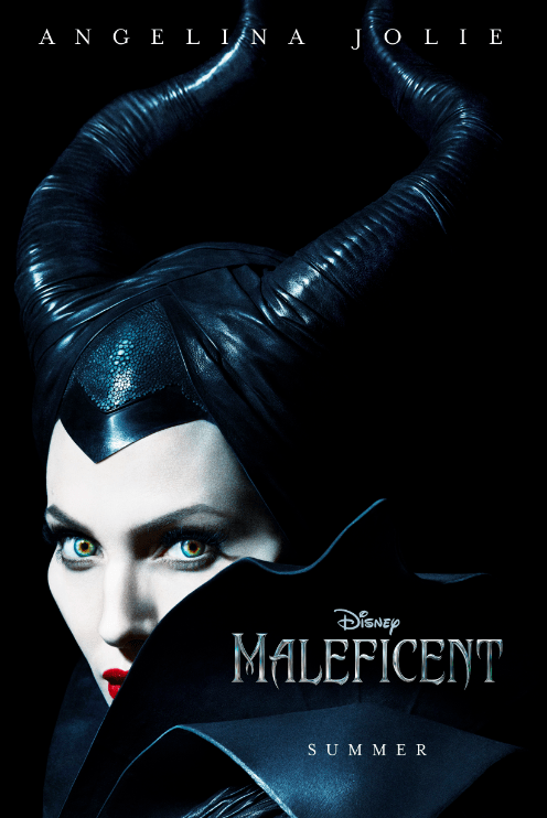 Angelina Jolie'sMaleficent poster