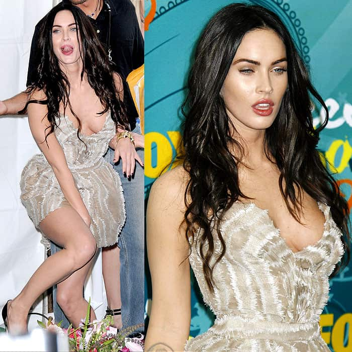 Megan Fox at the 2009 Teen Choice Awards held at the Gibson Amphitheatre in Los Angeles, California on August 9, 2009