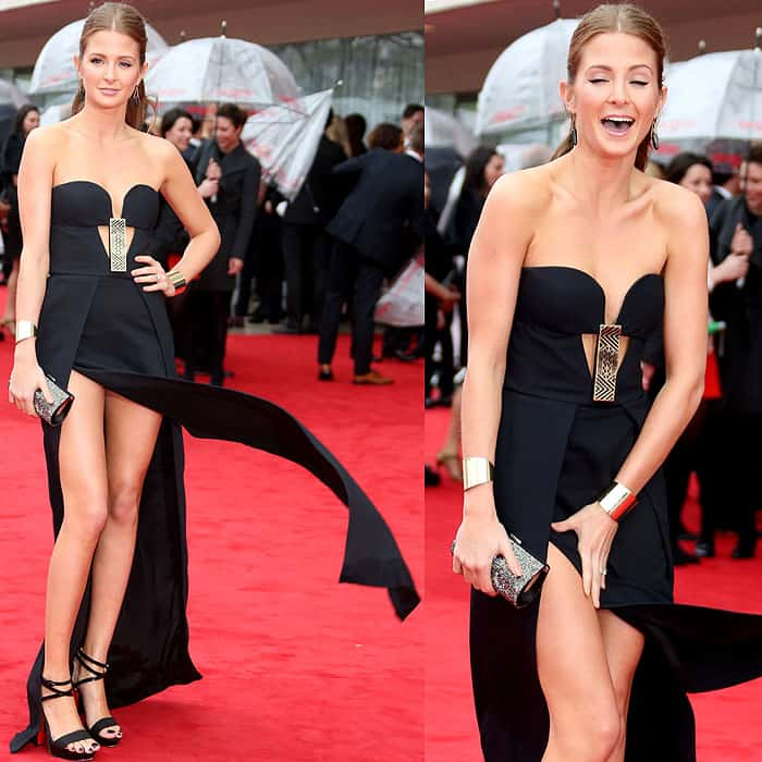 Millie Mackintosh at The Arqiva British Academy Television Awards held at the Royal Festival Hall in London, England on May 12, 2013