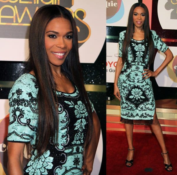 Michelle Williams in Leila Shams at the Soul Train Awards 2013