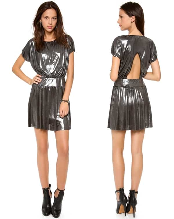 Tbags Los Angeles Short Sleeve Mini Dress