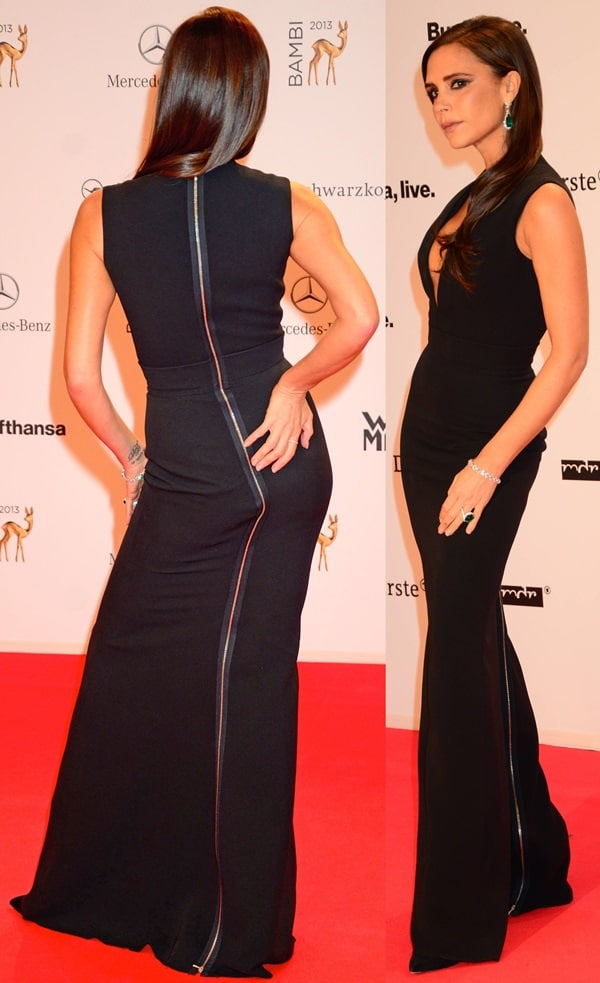 Victoria Beckham at the 2013 Bambi Awards at Musical Theater am Potsdamer Platz in Berlin on November 14, 2013