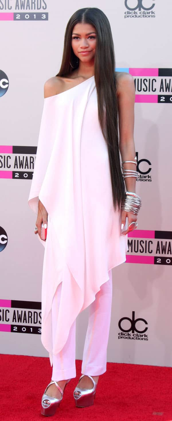 American Music Awards 2013 Arrivals
