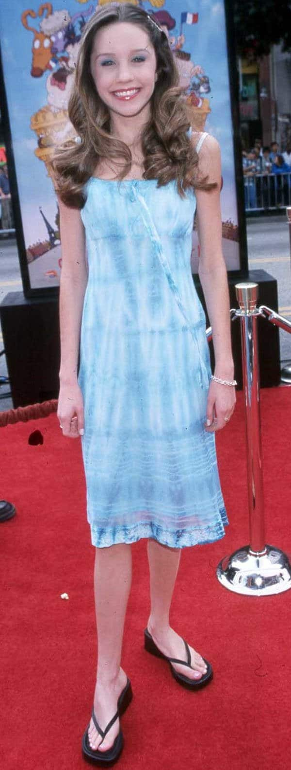 Amanda Bynes attends the world premiere of 'The Rugrats in Paris The Movie' in Hollywood on November 5 2000