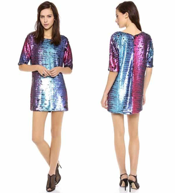 Blacque Label Sequin Dress
