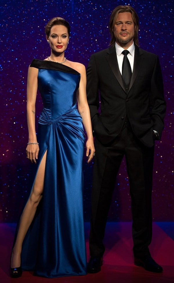 New Brangelina figures at Tussauds