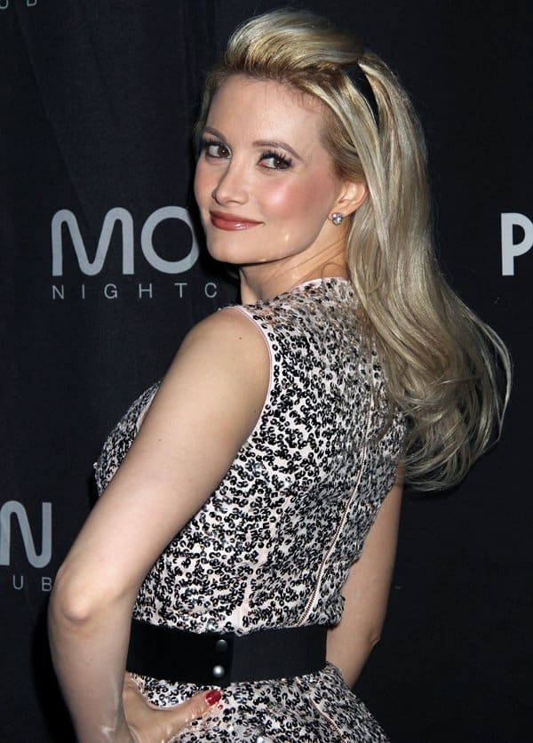 Marilyn Monroe was Holly Madison's biggest inspiration when growing up