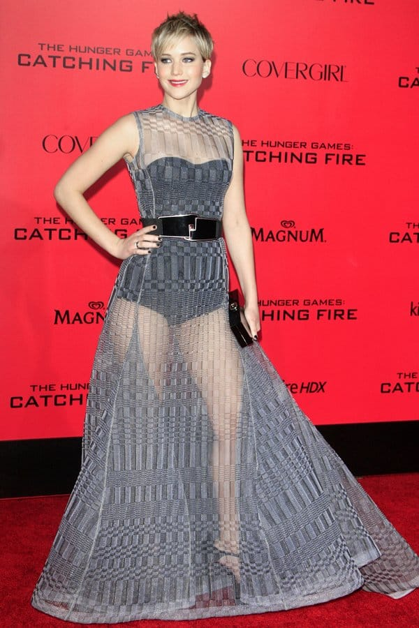 Los Angeles Premiere of 'The Hunger Games: Catching Fire'