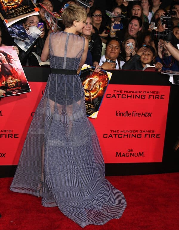 Hunger Games Catching Fire LA Premiere