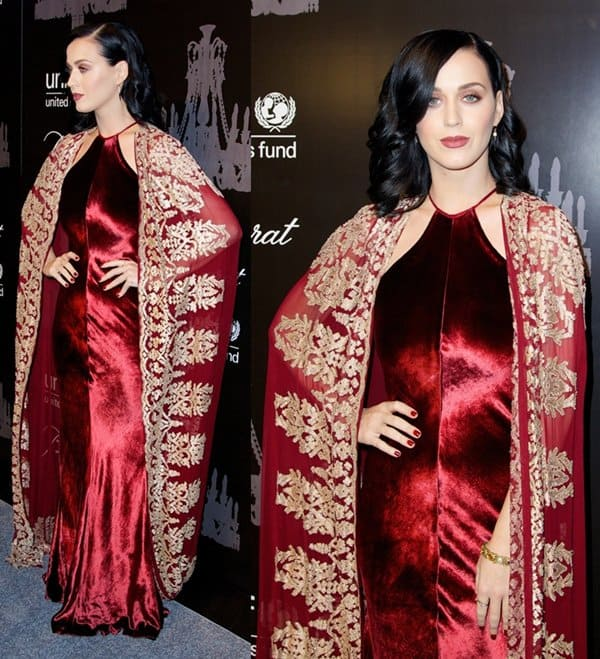 Katy Perry at the 9th Annual UNICEF Snowflake Ball at Cipriani Wall Street