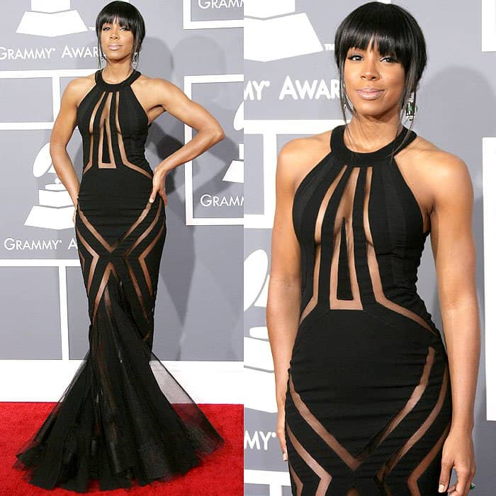 Kelly Rowland at the 55th Annual Grammy Awards