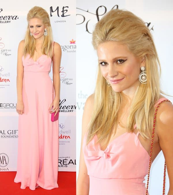 Pixie Lott at the 4th Annual Global Gift Gala held at ME hotel in London on November 19, 2013
