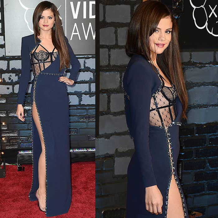 Selena Gomez rockced one of the sexiest dresses of all time at the 2013 MTV Music Awards