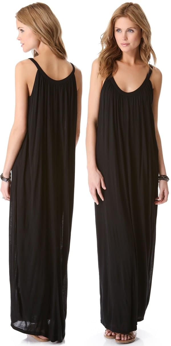 A jersey maxi dress is an effortless warm-weather essential