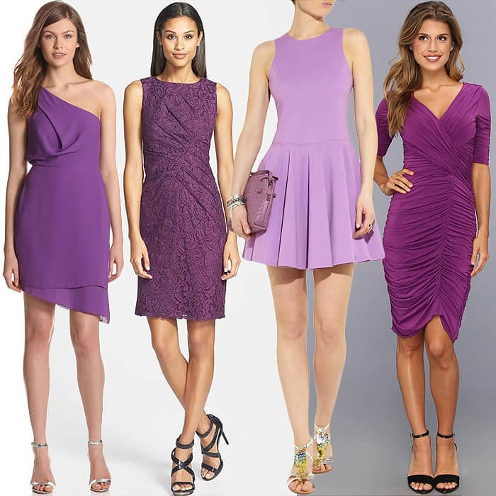 23 Dresses That Show Why Radiant Orchid Is Pantone's Color ...