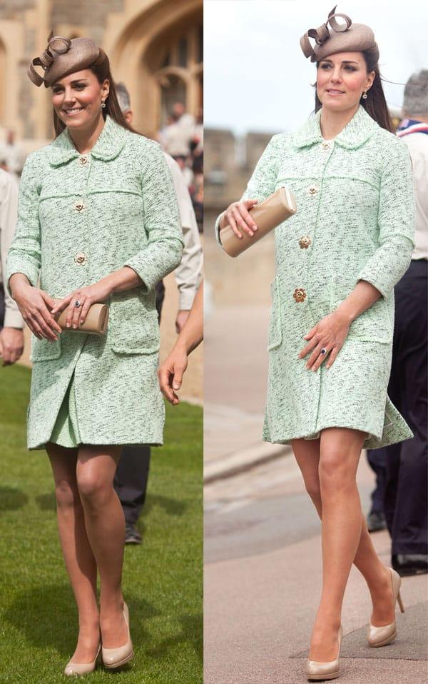 c9b6ce45fa55 Green Coat Dress