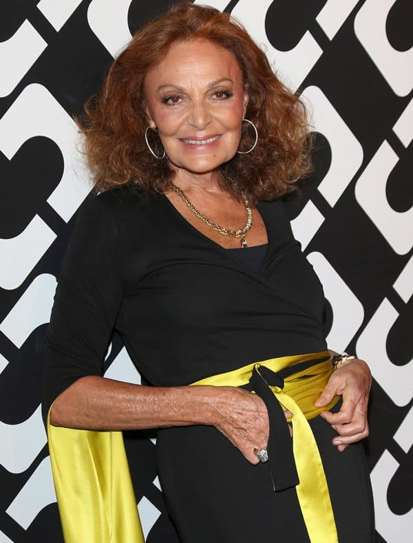 Diane von Furstenberg was only 26 when she came up with the wrap dress