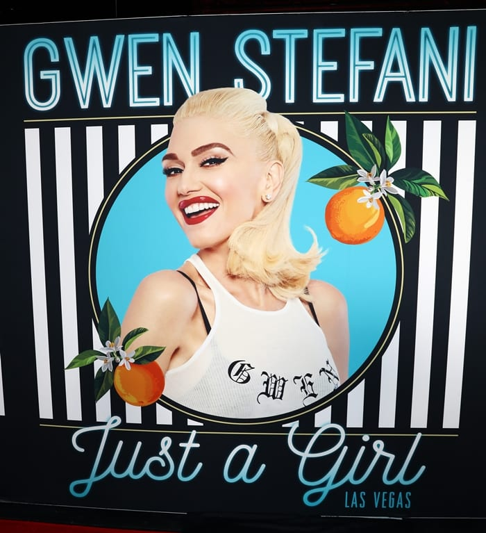 Gwen Stefani – Just a Girl was a concert residency performed by American singer Gwen Stefani at the Zappos Theater in Las Vegas