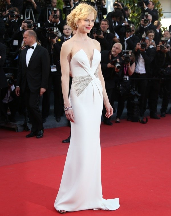 Nicole Kidman at the Zulu premiere and closing ceremony at the 66th Cannes Film Festival