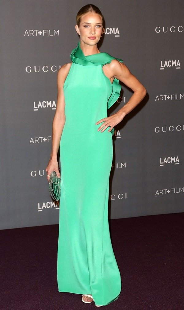 Rosie Huntington-Whiteley at the LACMA 2012 Art + Film Gala honoring Ed Ruscha and Stanley Kubrick