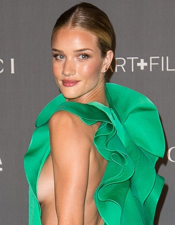 Rosie Huntington-Whiteley has shown side boob more than once