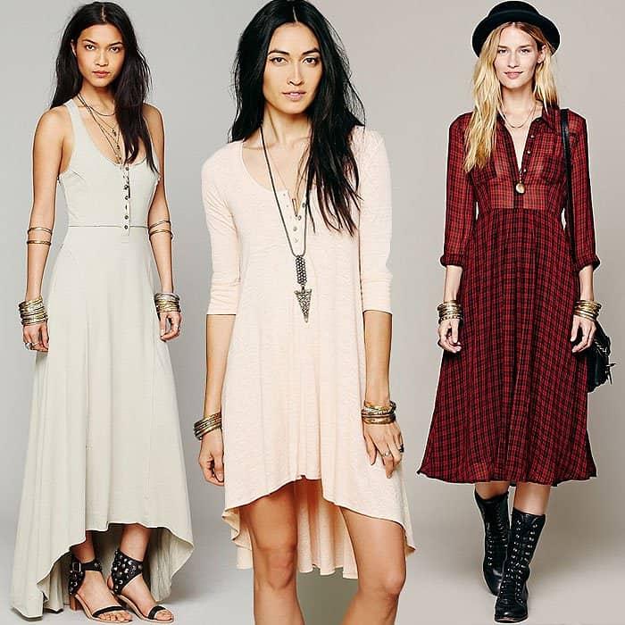 Button down dresses