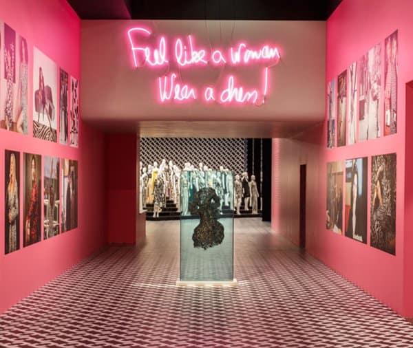 DVF Wrap Dress Exhibition