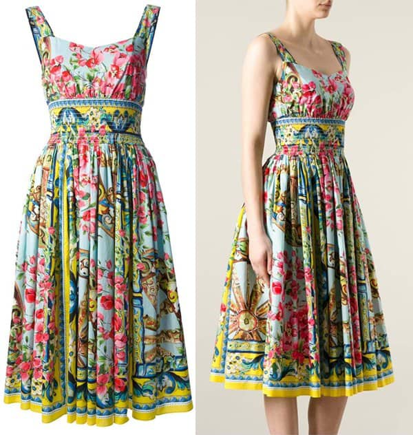 220c0735441 Time to Bloom in Spring s Prettiest Floral Dresses