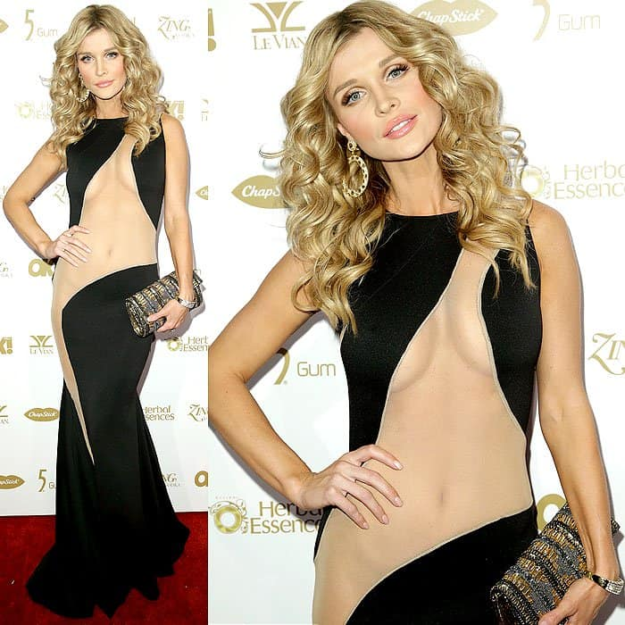 Can you come up with a lingerie design that would work with this Michael Costello creation seen on Real Housewives of Miami's Joanna Krupa?
