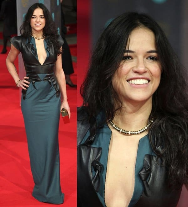 Michelle Rodriguez at the 2014 British Academy Film Awards (BAFTA)