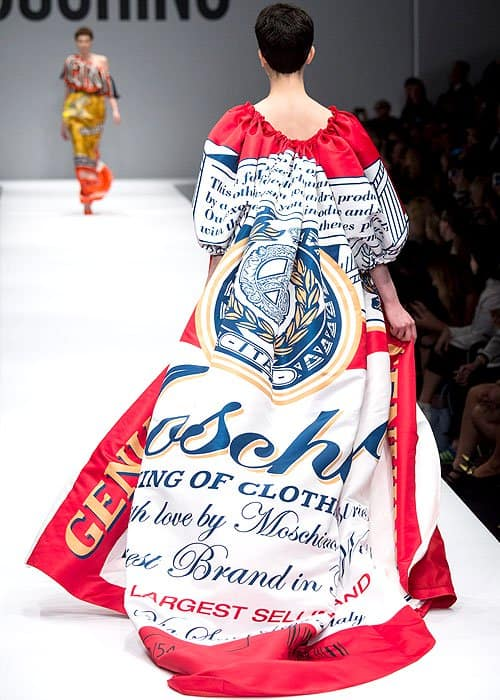 Image result for moschino x budweiser