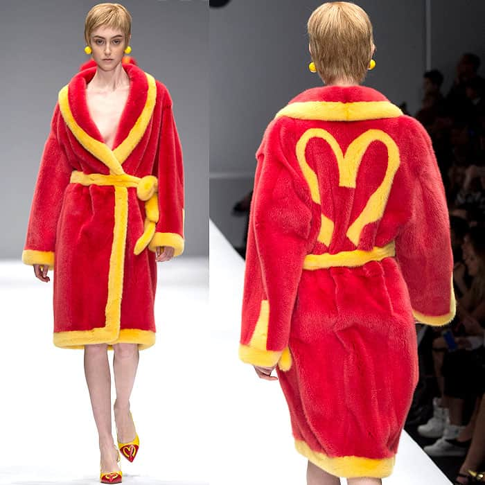 Moschino Fall 2014 McDonalds dress 2