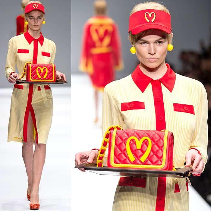 Moschino Fall 2014 McDonalds dress 3